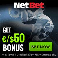 NetBet Sport 50 bonus