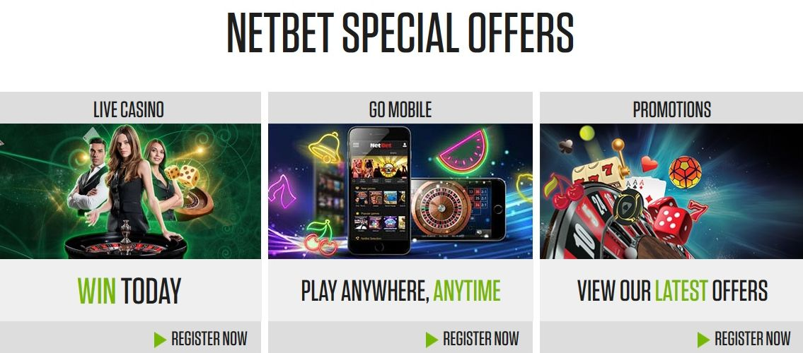 netbet casino special offers