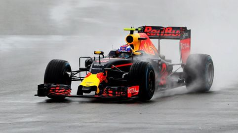 Max Verstappen regen