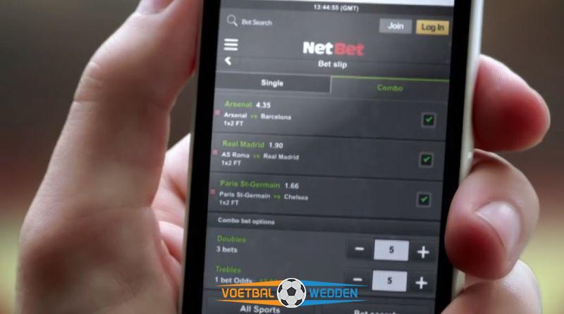 NetBet gratis mobiel wedden