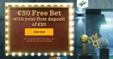Mr Green Free Bets