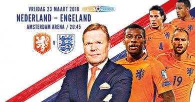 Wedden op Nederland–Engeland
