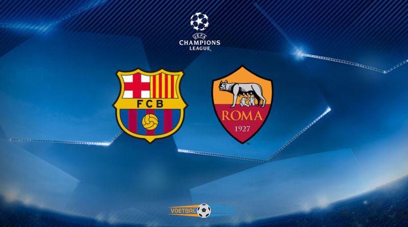 Barca vs Roma Cl