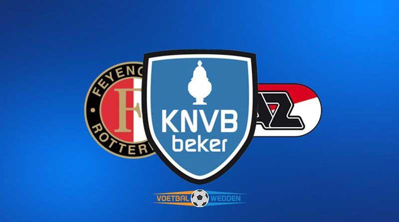 KNVB beker final Feyenoord AZ