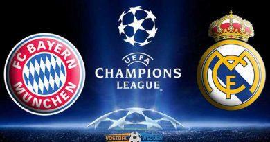 Wedden op Bayern München-Real Madrid