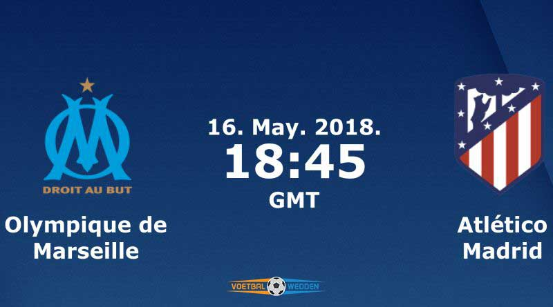 Wedden op Olympique Marseille-Atletico Madrid