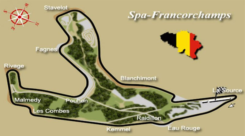 Spa-Francorchamps circuit