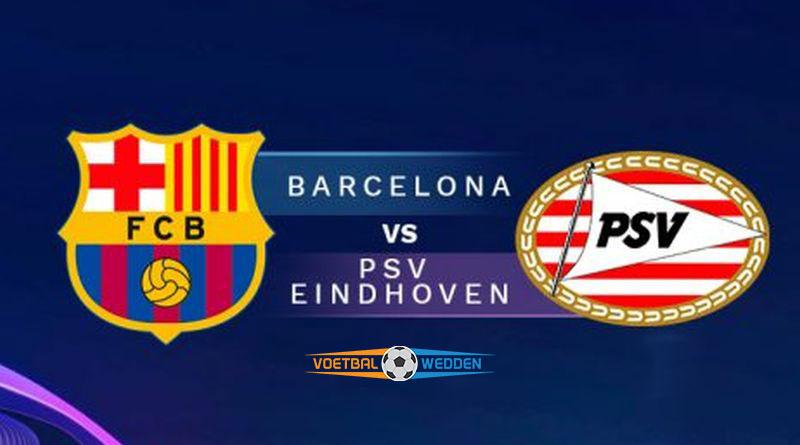 Wedden op Barcelona-PSV