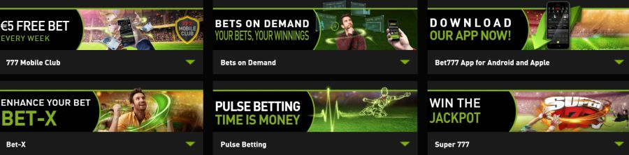 Bet777.be promo