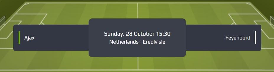 Eredivisie Ajax Feyenoord