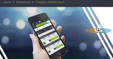 SnapBet bij NetBet Sport