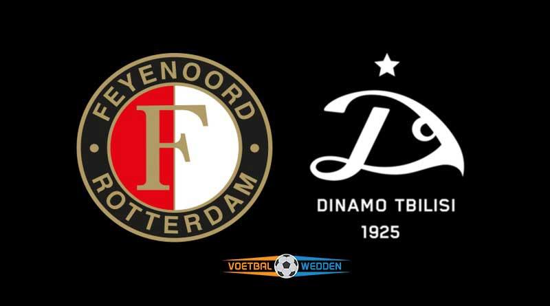 Wedden op Feyenoord-Dinamo Tbilisi