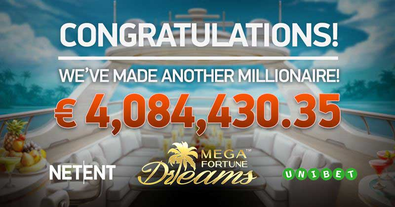 Unibet Jackpot Mega Fortune Dreams
