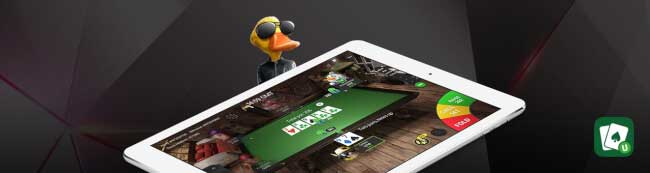 Unibet tablet poker