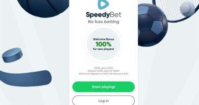 SpeedyBet start