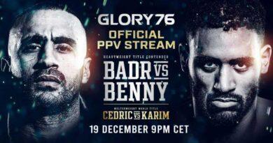 Wedden op Badr – Benny Glory 76